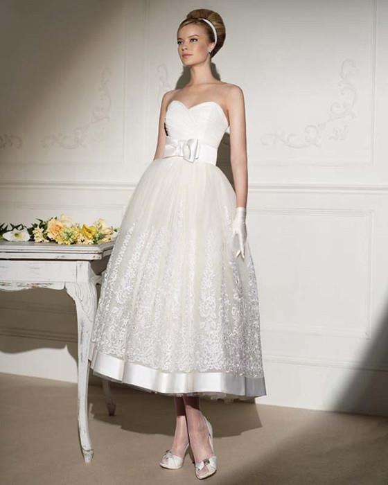 Свадебное платье в стиле 50-х: выбираем лучший наряд